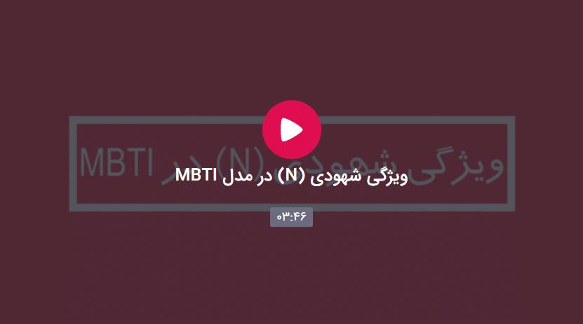 شهودی در مدل MBTI