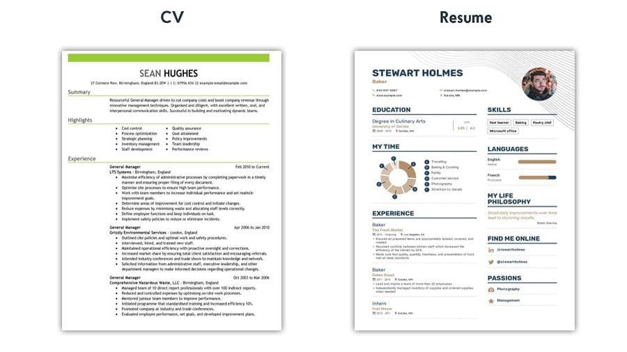 نکات مهم در نوشتن رزومه و CV