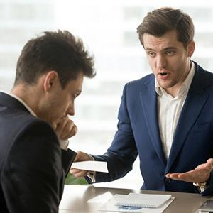 اختلافات در محیط کار